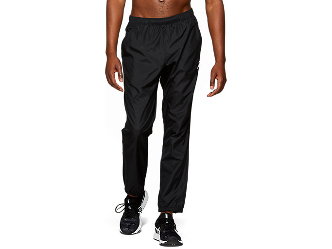 Alternative image view of SILVER WOVEN PANT, PERFORMANCE BLACK
