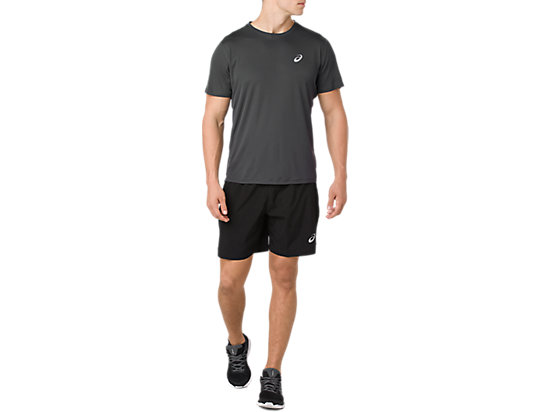 SILVER 7IN SHORT PERFORMANCE BLACK