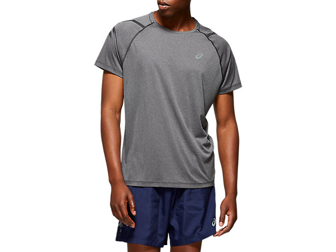 Alternative image view of ICON SS TOP, DARK GREY/PERFORMANCE BLACK
