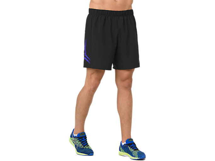 Alternative image view of ICON SHORT, PERFORMANCE BLACK/ILLUSION BLUE