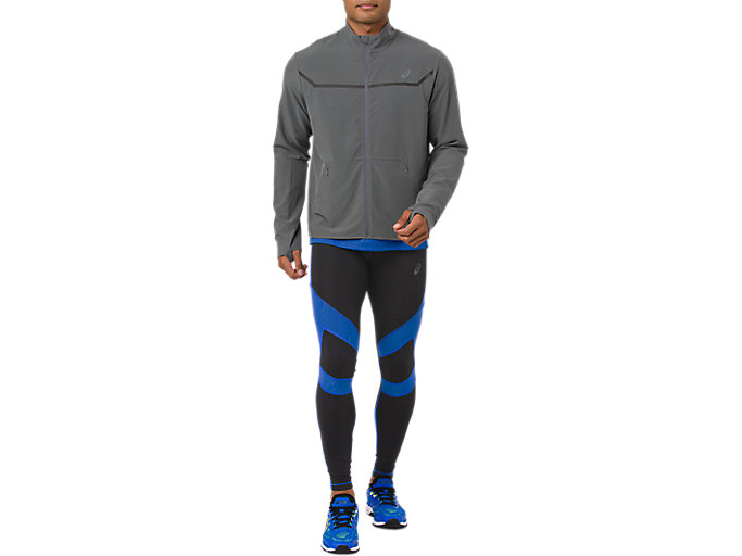 Alternative image view of LEG BALANCE 2 TIGHT, PERFORMANCE BLACK/ILLUSION BLUE