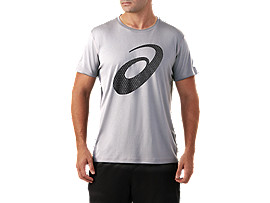 SILVER GRAPHIC SHORT SLEEVE TOP #2