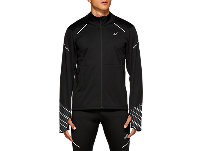 Front Top view of LITE-SHOW 2 WINTER JACKET, PERFORMANCE BLACK