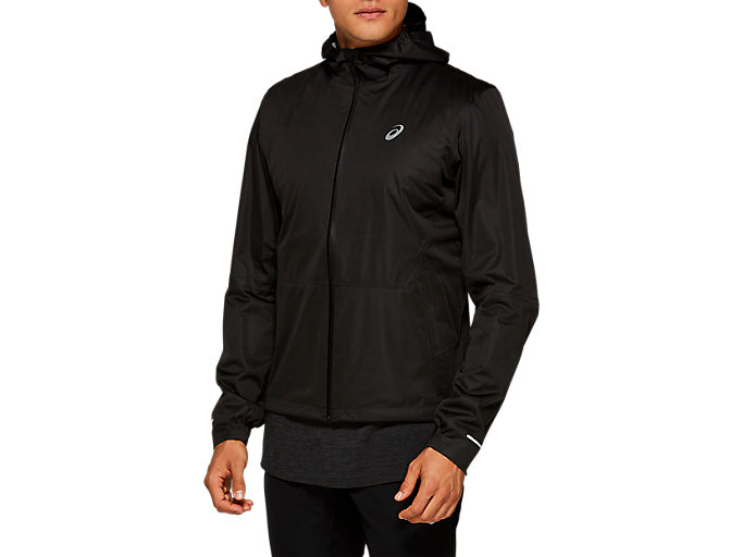 Men's WINTER ACCELERATE Jacket | Performance Black | Outerwear | ASICS