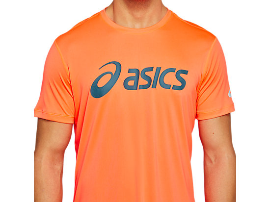 SILVER ASICS TOP FLASH CORAL/MAGNETIC BLUE