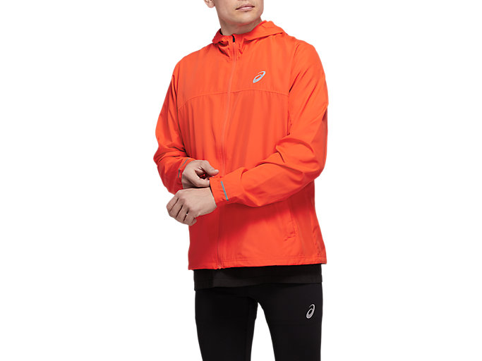 Alternative image view of RUN HOOD JACKET, Nova Orange