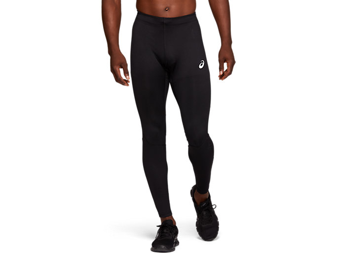 Front Top view of SPORT RUN TIGHT, PERFORMANCE BLACK