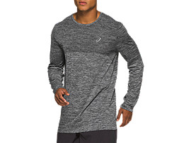 RACE SEAMLESS LONG SLEEVED TOP