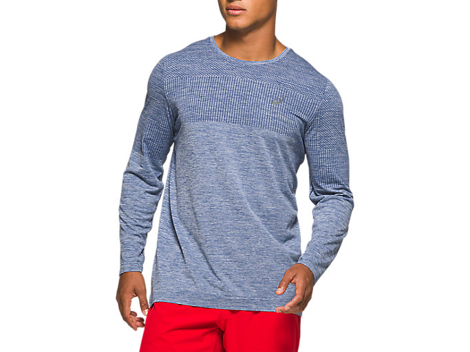 Alternative image view of RACE SEAMLESS LS, GRAND SHARK