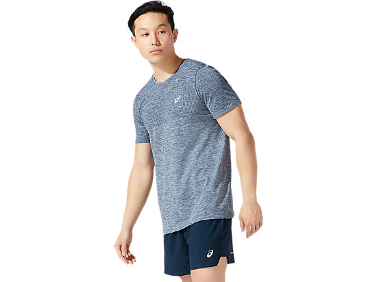 RACE SEAMLESS SS FRENCH BLUE