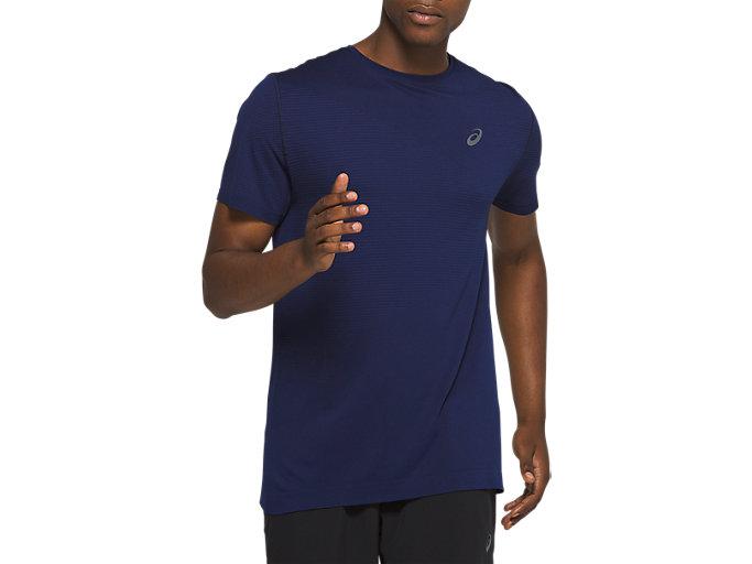 Men's Tokyo Seamless Short Sleeve | Peacoat | Short Sleeve Shirts ...