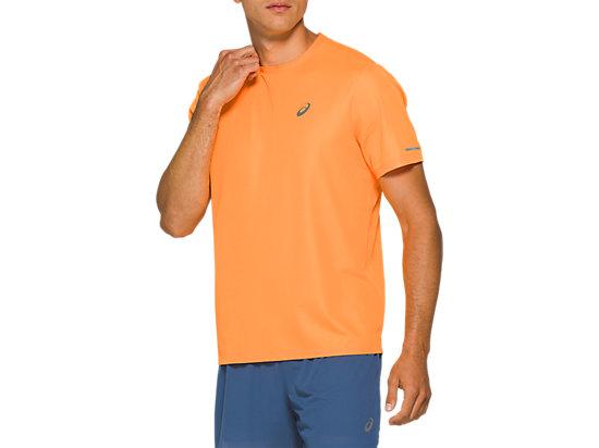 透氣跑步短袖T恤 ORANGE POP