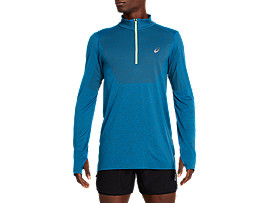 RACE SEAMLESS 1/2 ZIP
