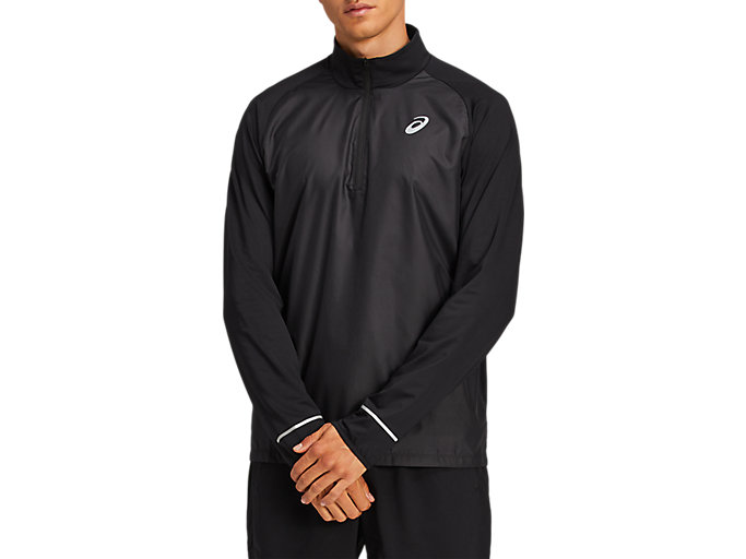 Alternative image view of LITE-SHOW™ LS 1/2 ZIP, PERFORMANCE BLACK