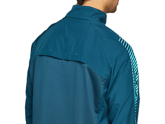 ICON JACKET MAGNETIC BLUE/TECHNO CYAN