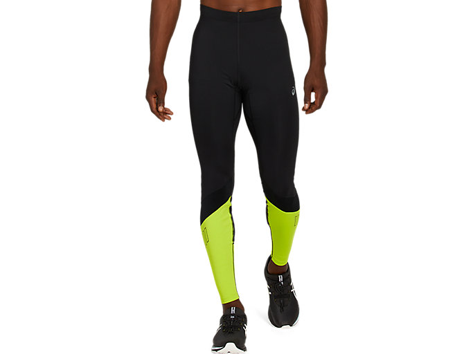 Alternative image view of LITE-SHOW TIGHT, Performance Black/Lime Zest