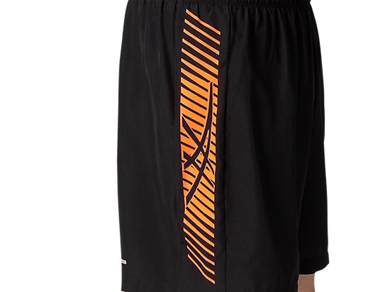 ICON 7IN SHORT PERFORMANCE BLACK/FLASH CORAL