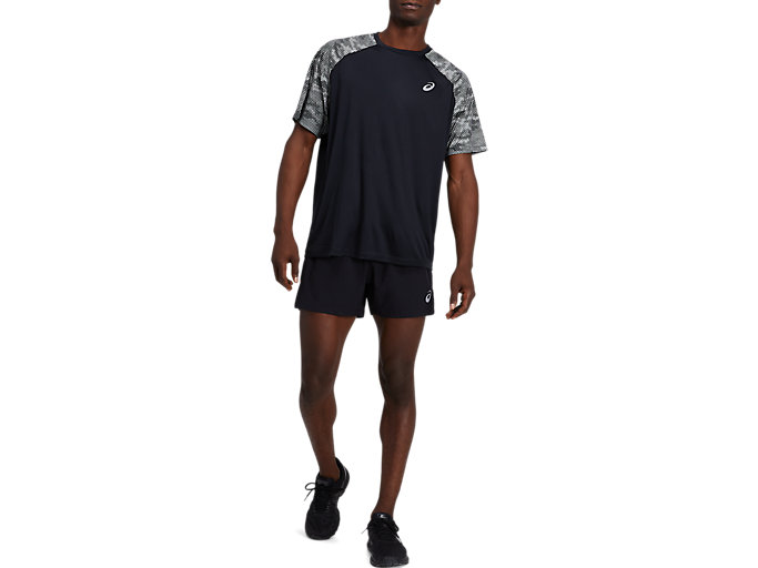 Alternative image view of SPORT RFLC SS TOP, PERFORMANCE BLACK