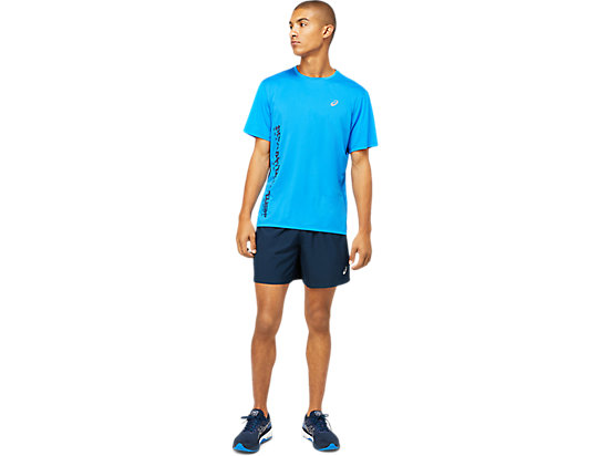 ASICS RUN SS TOP ELECTRIC BLUE/FRENCH BLUE