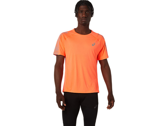 Alternative image view of SPORT RFLC SS TOP, Flash Coral/Silver Reflective