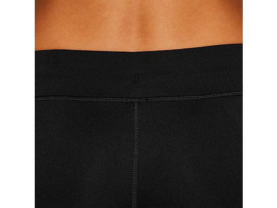 SILVER HOT PANT PERFORMANCE BLACK