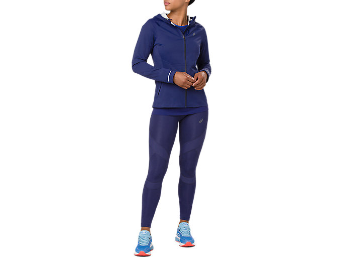 Alternative image view of ACCELERATE JACKET, INDIGO BLUE