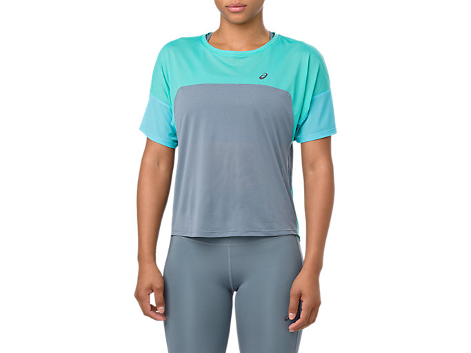Alternative image view of STYLE TOP, STEEL BLUE/SEA GLASS
