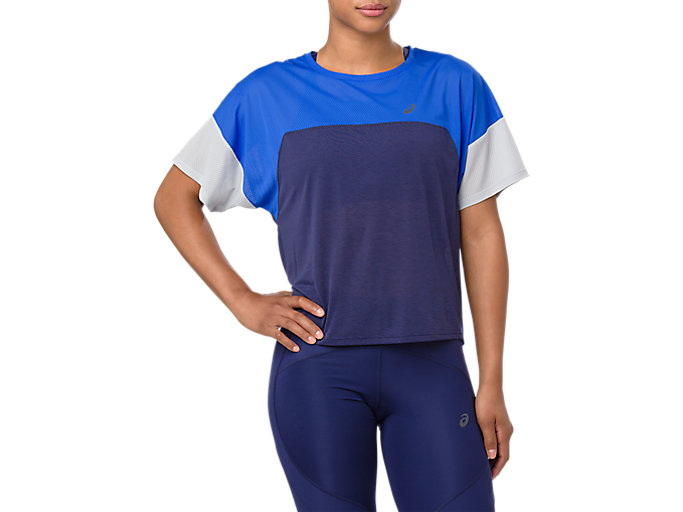 Alternative image view of STYLE TOP, INDIGO BLUE/ILLUSION BLUE