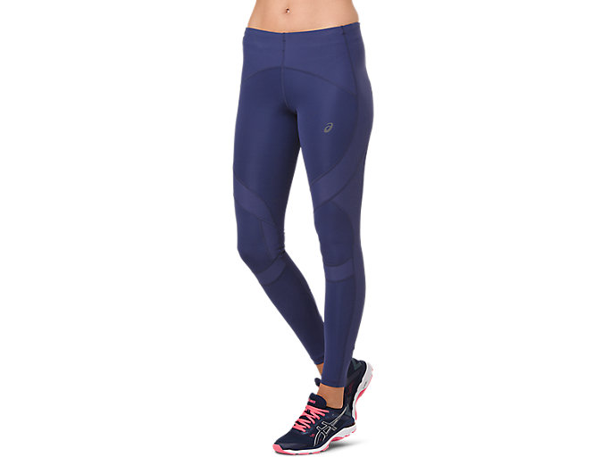 Alternative image view of LEG BALANCE TIGHT 2, Indigo Blue