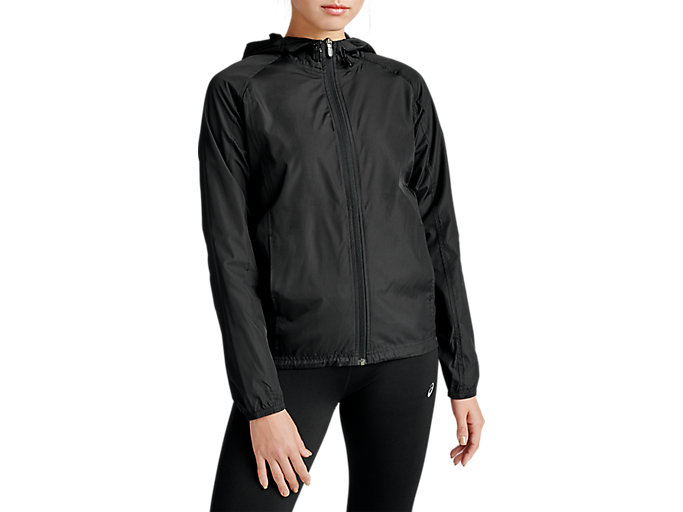 Con Oceano Picasso  Women's Packable Jacket | Performance Black | Outerwear | ASICS