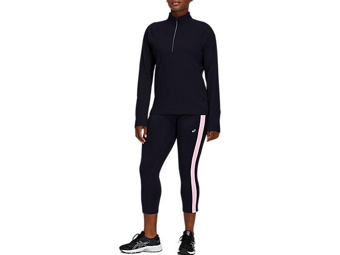 ASICS Women's 1/4-Zip Long-Sleeve Pullover