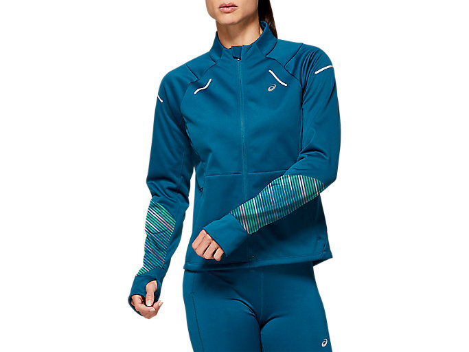 Alternative image view of LITE-SHOW™ 2 WINTER JACKET, Mako Blue