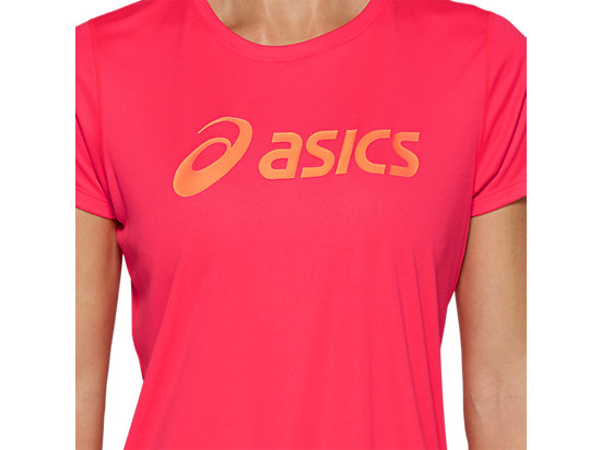 SILVER ASICS TOP LASER PINK / SUN CORAL
