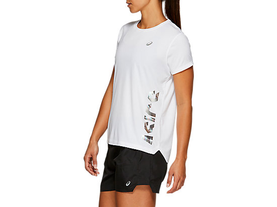 EMPOW-HER SS TOP BRILLIANT WHITE