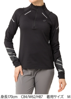 LITE-SHOW 2 WINTER LONG SLEEVE 1/2 ZIP TOP