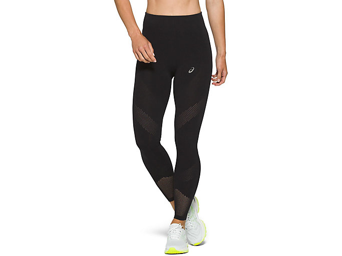 Alternative image view of VENTILATE CROP TIGHT, PERFORMANCE BLACK