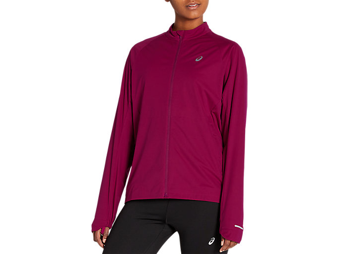 Alternative image view of VENTILATE JACKET, DRIED BERRY