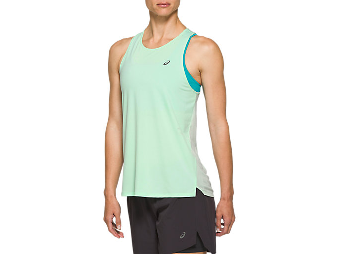 Alternative image view of RACE SLEEVELESS, MINT TINT