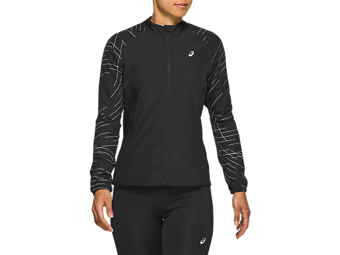 Alternative image view of NIGHT TRACK JACKET, NIGHT TRACK BLACK