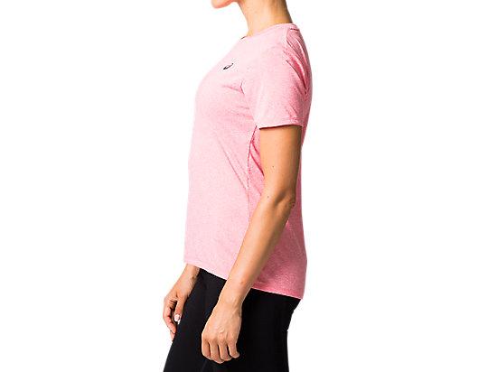 跑步短袖T恤 PINK CAMEO HEATHER