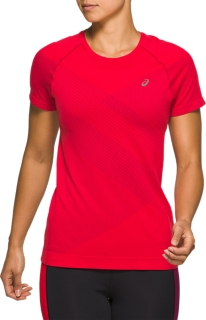 TOKYO無縫拼接跑步短袖T恤
