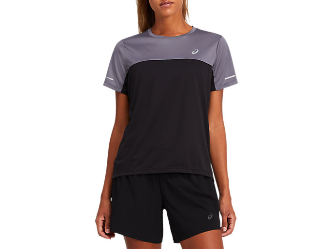 Alternative image view of LITE SHOW COLOR BLOCK TOP, Performance Black