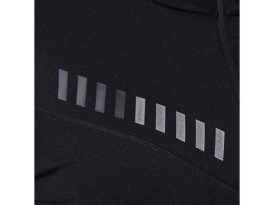 LITE-SHOW WINTER 1/2 ZIP TOP PERFORMANCE BLACK/GRAPHITE GREY