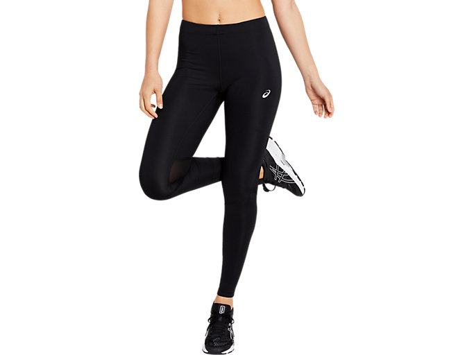 Front Top view of SPORT RUN TIGHT 2, PERFORMANCE BLACK
