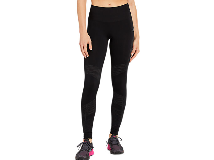 Women's SEAMLESS TIGHT   Performance Black   Tights & Leggings   ASICS