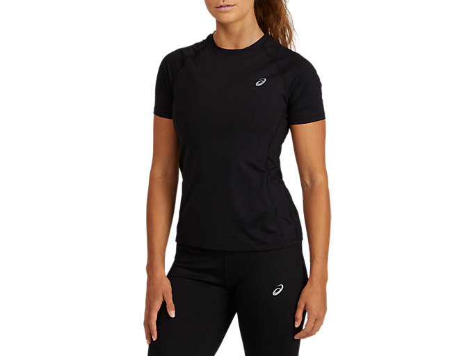 Alternative image view of BASELAYER SS TOP, PERFORMANCE BLACK