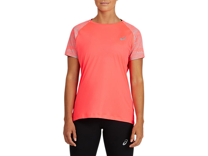 Alternative image view of SPORT RFLC SS TOP, Diva Pink