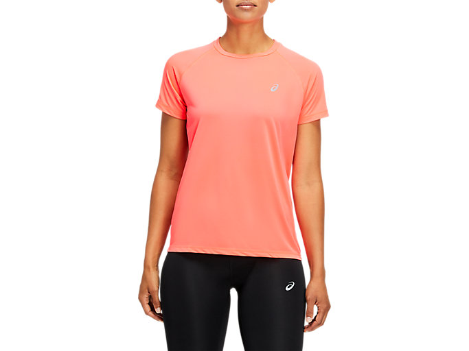 Alternative image view of SPORT RUN TOP, DIVA PINK
