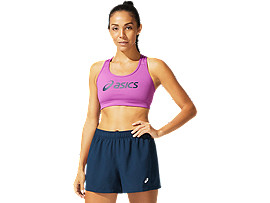 ASICS  Logo Bra Digital Grape / French Blue Mujer Talla L