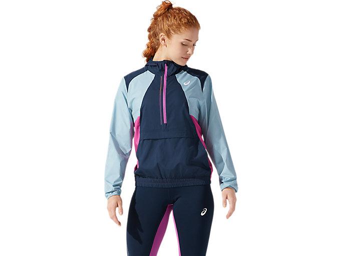 Women's VISIBILITY JACKET   FRENCH BLUE/SMOKE BLUE   Jackets ...